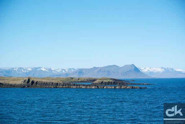 Blick auf die Westfjorde - ist Island nicht traumhaft schön?  (Juli 2012, Westfjorde, Island)