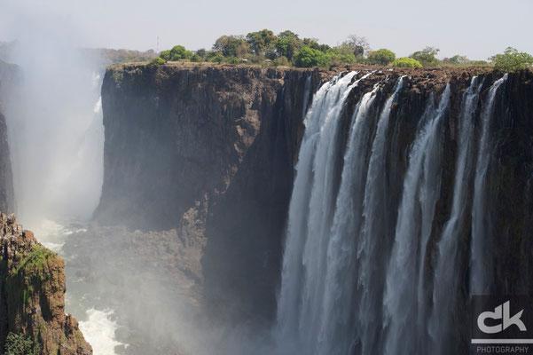 Viktoria Fälle Sambia-Seite (Sambia, 2011)