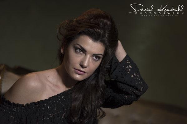 Model Rebekka - schön und sportlich