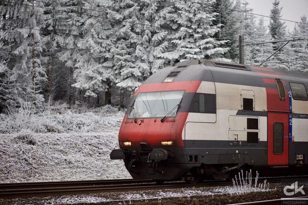 SBB auf dem Weg nach Thun