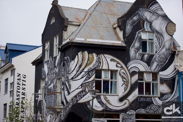 Street Art, Reykjavik (Island, Mai 2016)