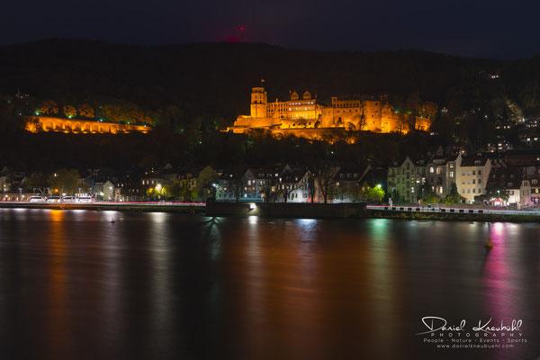 """KW47: Schloss Heidelberg """"by night"""", aufgenommen mit meiner Sony RX1RM2"""