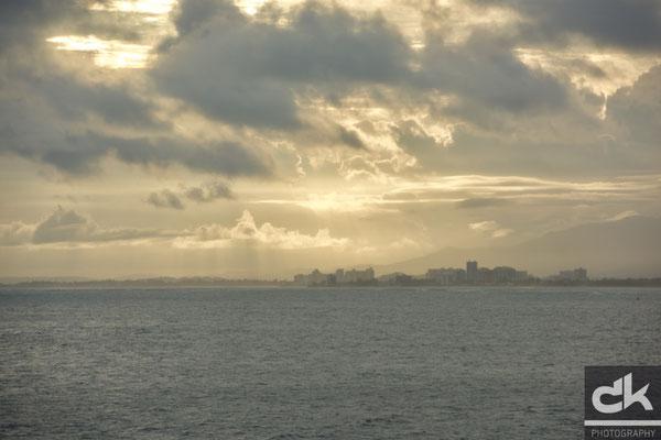 San Juan, Puerto Rico zu früher Morgenstunde