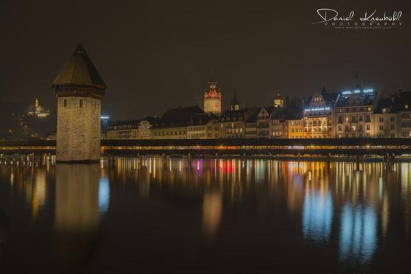 """KW7: Luzerner Altstadt """"by night"""", aufgenommen mit meiner kleinen Sony Vollformatkamera RX1RM2."""