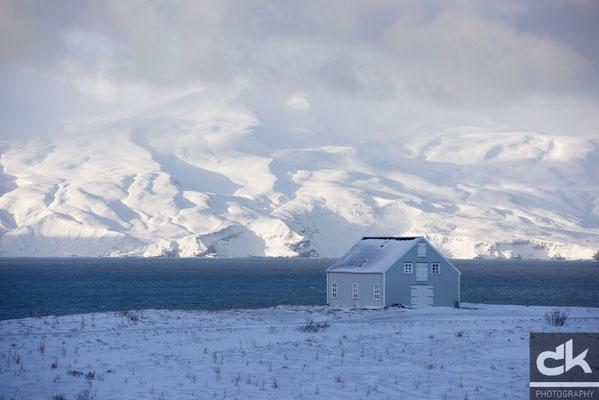 Das Haus am Fjord (bei Husavik)