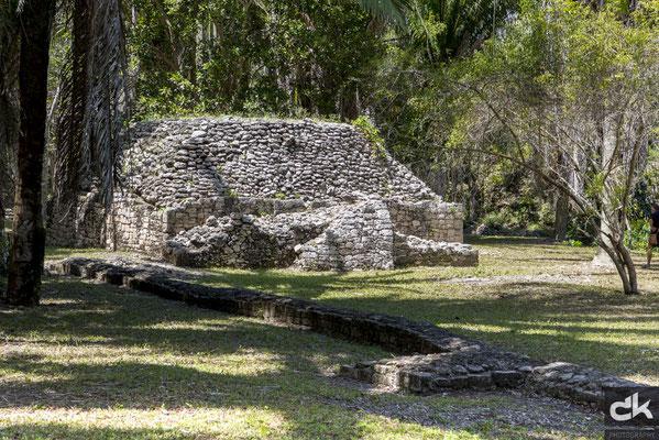 Die Ruinen von Kohunlich