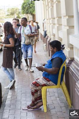 Menschen in Cartagena