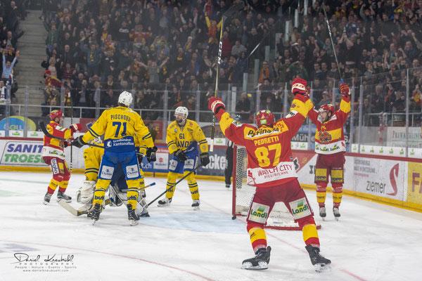 KW11: Eishockey Spiel EHC Biel - HC Davos (Playoff), aufgenommen mit der Nikon D850