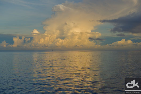 Sonnenaufgang vor Grenada