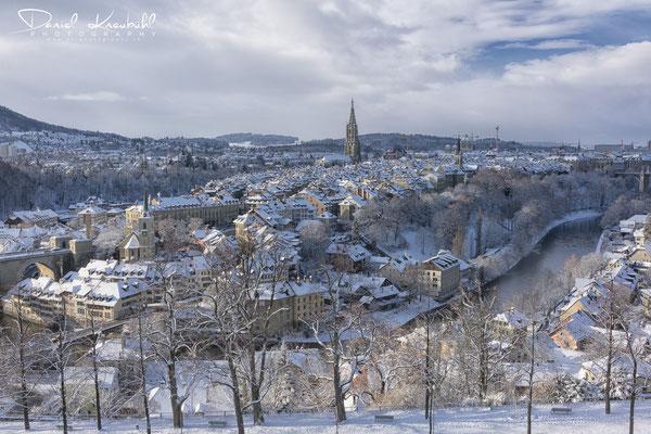 Berner Altstadt im Winterkleid