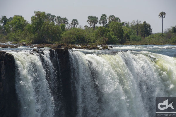 Viktoria Fälle Simbabwe-Seite (Simbabwe, 2011)