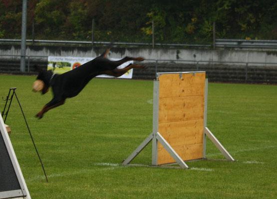 Katharina beim Sprung