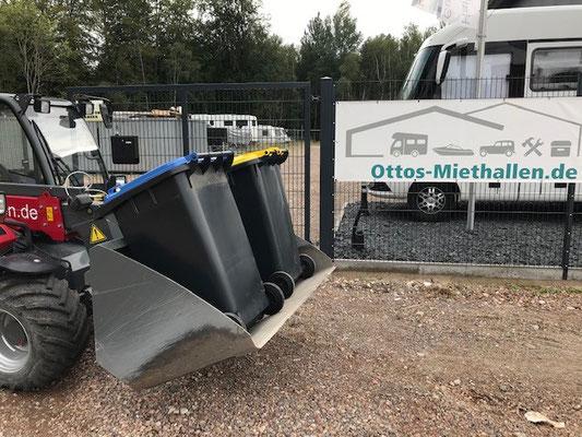 Müll-Servicepaket Ottos-Miethallen ©