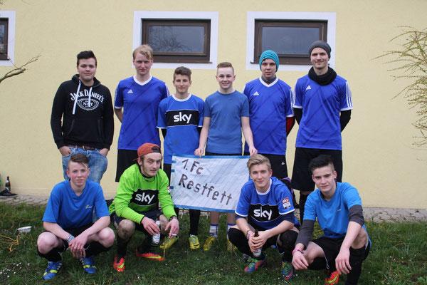 Mannschaftsfoto 1. FC Restfett