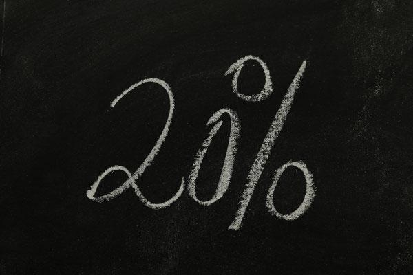20% auf alle Leistungen im Winterangebot