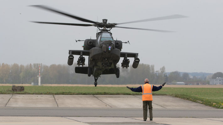 Netherlands Air Force RLNAF AH-64D Apache Q-23
