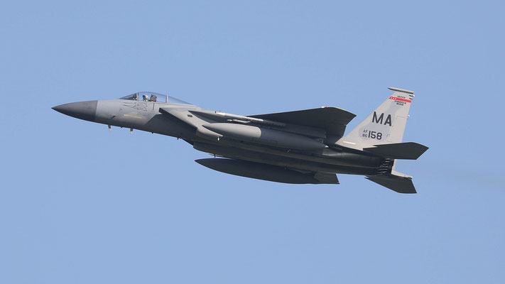 USAF F-15C 86-0158 MA 131FS/104FW