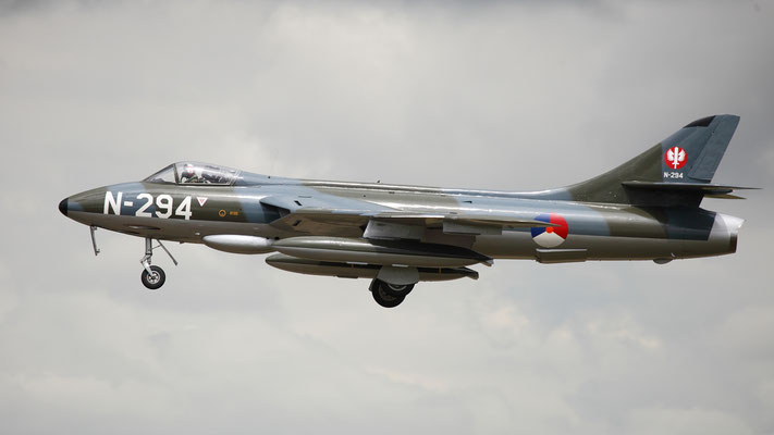HAWKER HUNTER F.6A/N-294 built in 1956 for the Royal Air Force.