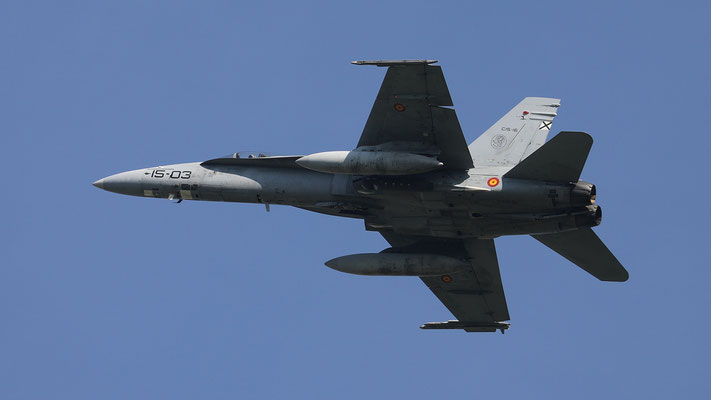 Spanish Airforce 15-03 C.15-16 EF18-M Ala15