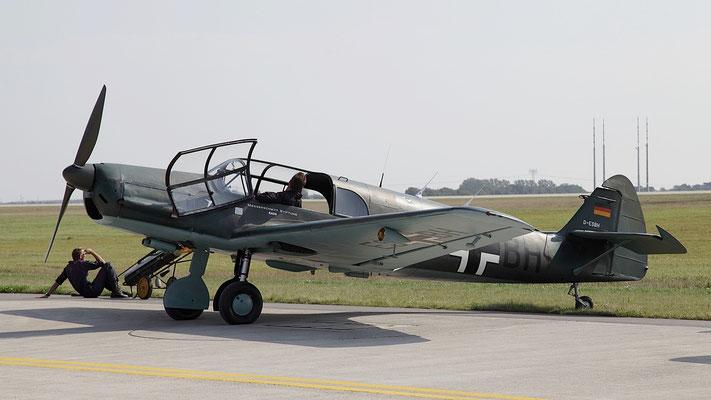 Messerschmitt Bf 108 Taifun der Messerschmitt Stiftung in Manching (D-ESBH, Werk Nr. 3701)