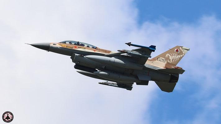"""IAF F-16 D """"Barak"""" 628"""