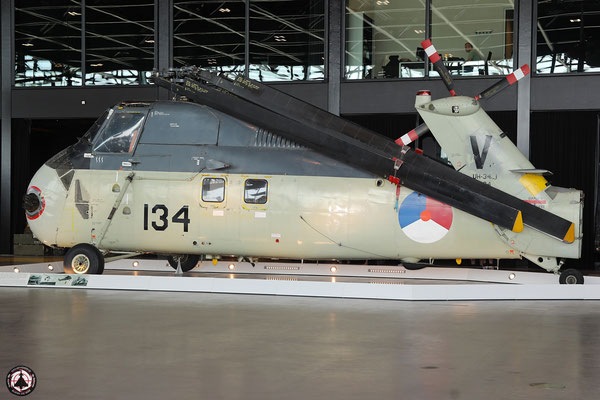 Koninklijke Marine 134. Sikorsky UH-34J Seabat