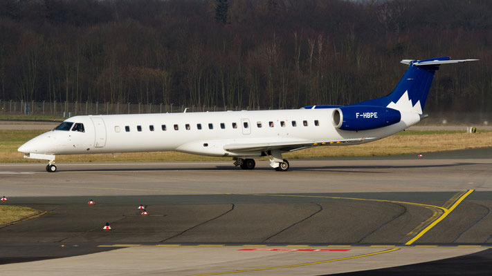 F-HBPE - Pan Europeenne Air Service Embraer ERJ-145
