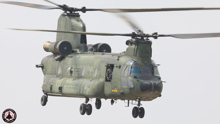 Koninklijke Luchtmacht Royal Netherlands Airforce CH-47 Chinook