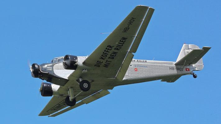 CASA 352A-3, Baujahr 1949 (HB-HOY) spanischer Nachbau der Junkers JU52