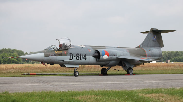 F-104G Starfighter D-8114, Royal Netherlands Air Force