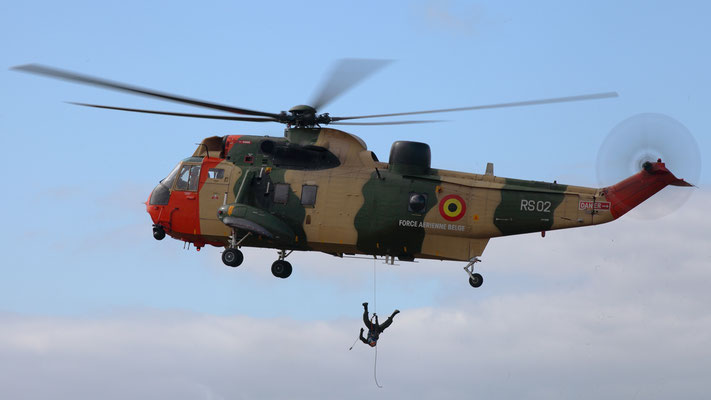 RS02 Belgian Air Force Westland Sea King Mk.48