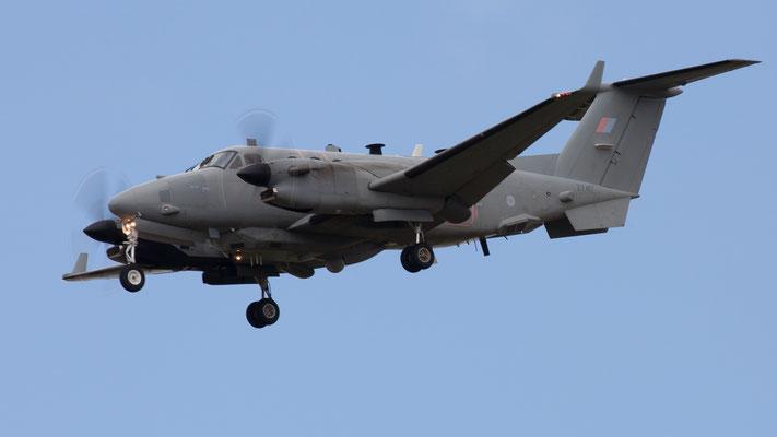 ZZ417 - Royal Air Force Beechcraft 300 Shadow R.1