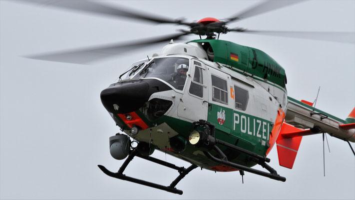 Polizei Nordrhein-Westfalen Messerschmitt-Bölkow-Blohm-(MBB) BK 117 B2 D-HNWK