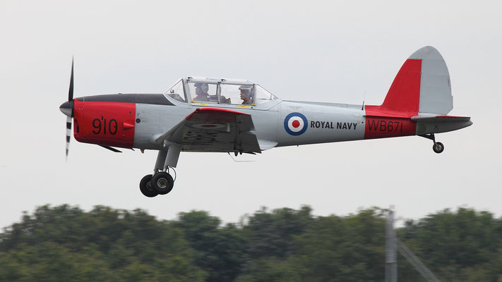 G-BWTG - deHavilland Canada DHC-1 Chipmunk T.10 ex Royal Navy