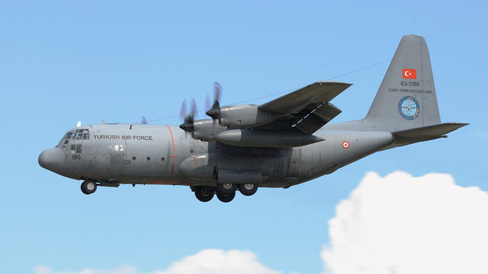 Turkish Air Force C-130 Hercules 63-3186