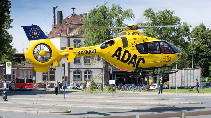 D-HOFF Christoph 8 ADAC Luftrettung EC135 P2