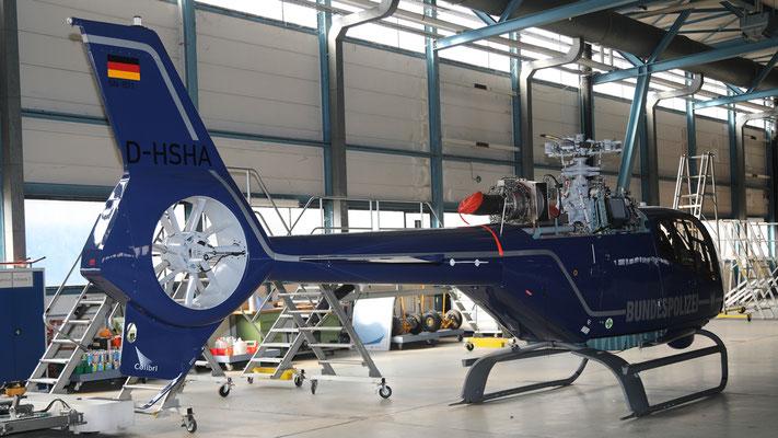 D-HSHA Bundespolizei Eurocopter EC-120B Colibri