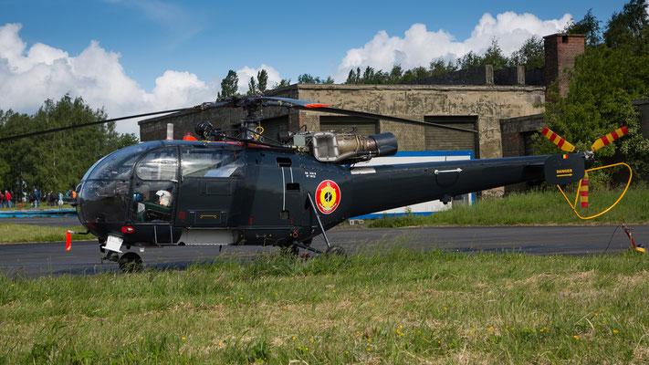 Belgian Navy - Aerospatiale SA-316B Alouette III