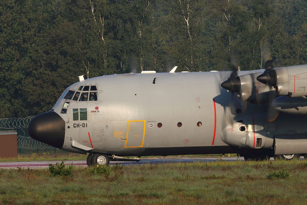 CH-01 Belgian Air Force Lockheed C-130H Hercules