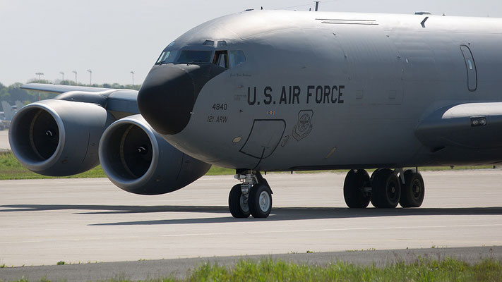 61-4840 Boein KC-135R, 121 ARW, Ohio ANG