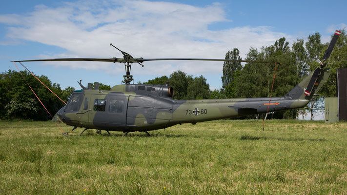 German Army Bell UH-1D 73+60