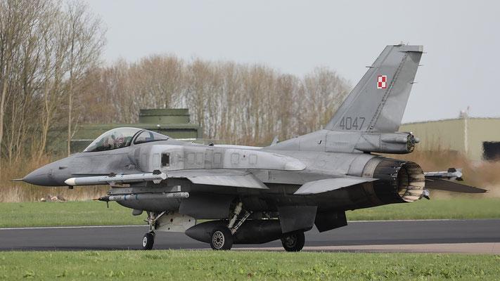 Polish Airforce F-16C 4057 31.BLT
