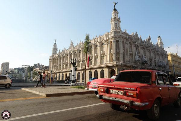 Havanna - Gran Teatro neben dem Capitolio