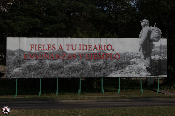 Havanna - Plaza de la Revolución - Platz der Revolution
