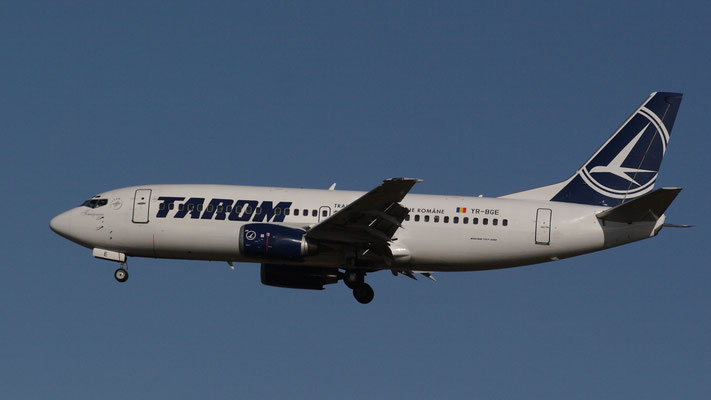 "Tarom Boeing 737-38J. YR-BGE ""Timisoara"""