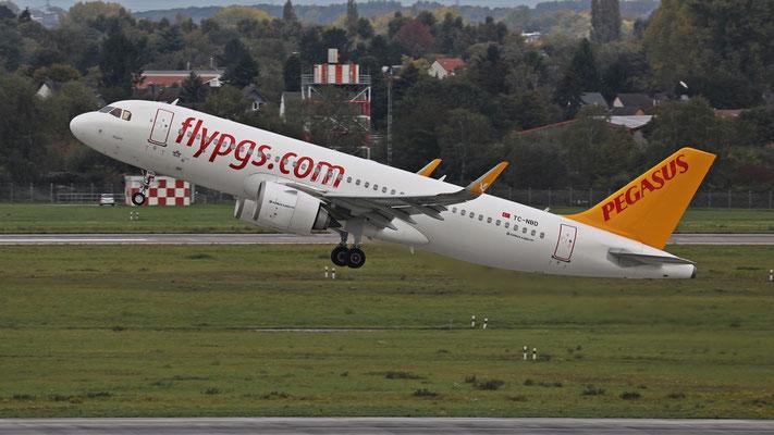 TC-NBD Airbus A320neo Pegasus