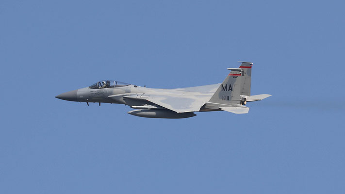 USAF F-15C 85-111 MA 131FS/104FW