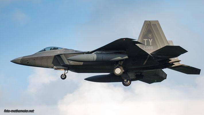 """05-4089 USAF F-22 """"Raptor"""""""