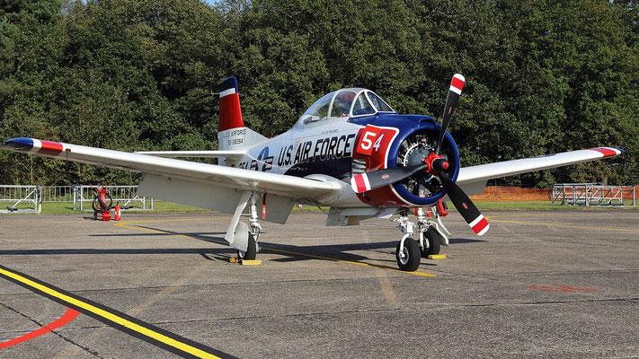 North American T-28B Trojan - N1328B  55-138354  TL-354 1