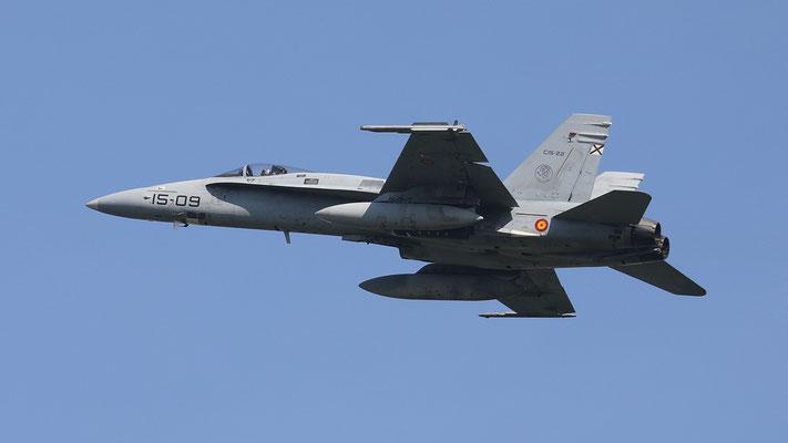 Spanish Airforce 15-09  C.15-22 EF-18M